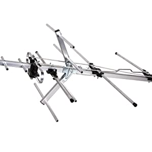 Five Star TV Antenna Outdoor Yagi Satellite HD Antenna with up to 200 Mile Range