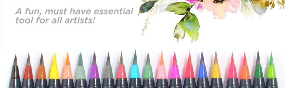 Water Based Drawing Marker Brushes