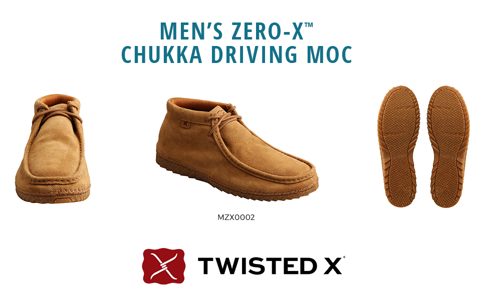 Twisted X Men's Zero-X Chukka Driving Moc