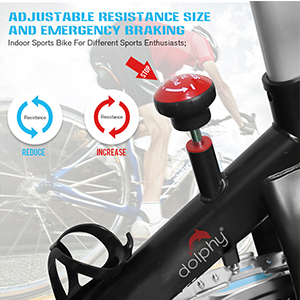 Exercise fitness Spinning Indoor Cycling , Smooth & Quiet Stationary Bike