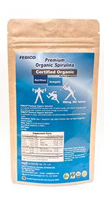 usda organic spirulina tablets