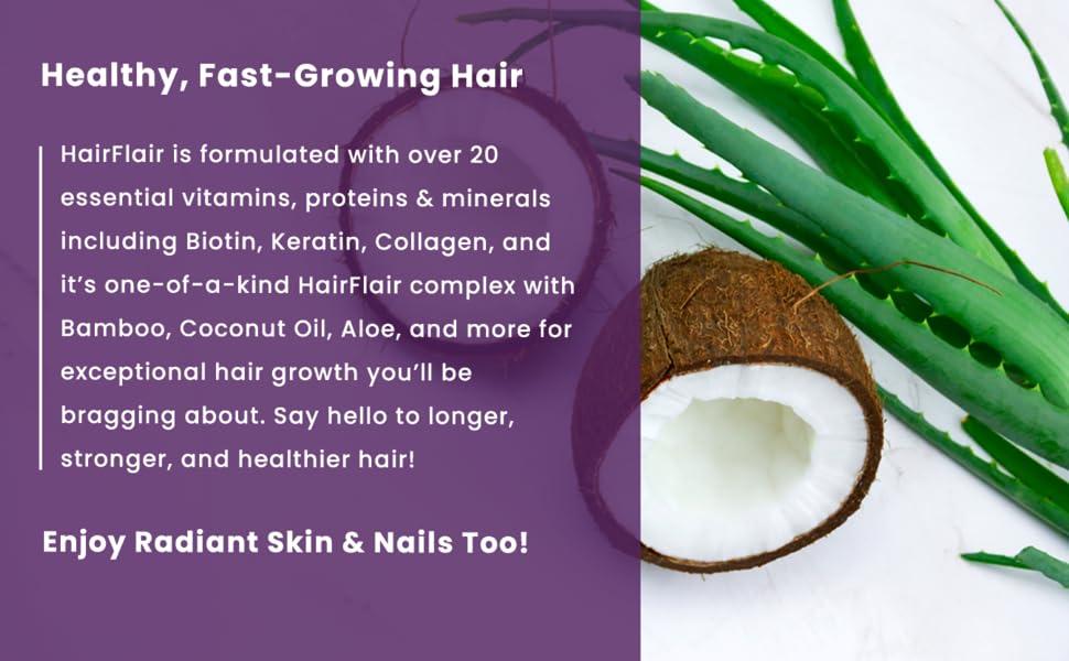 natural hair growth pills