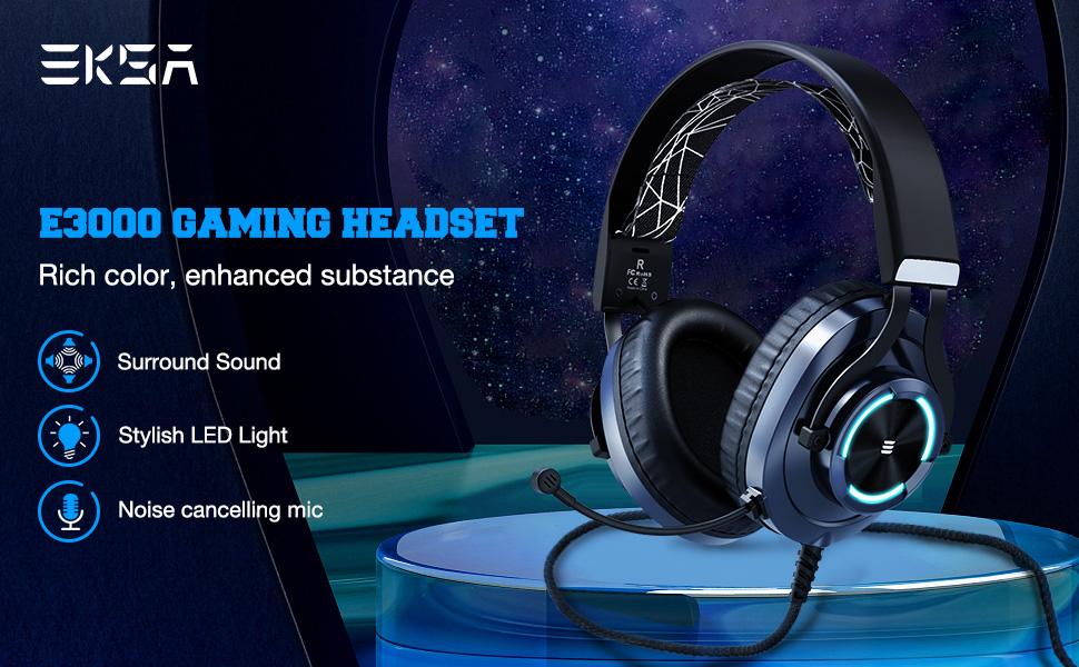 E3000 gaming headset