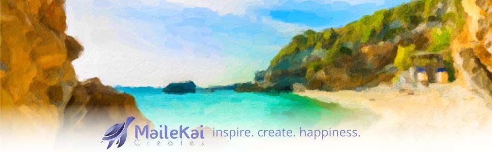 MaileKai Creates Paint by Numbers Kits