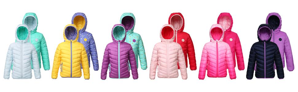 down jacket girls puffer coat