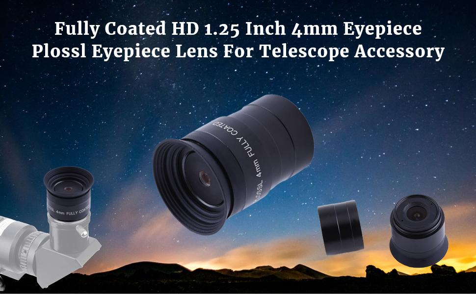 4mm Plossl Eyepiece