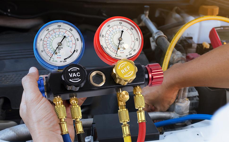 r134a manifold gauge set