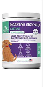 Digestive enzyme chews