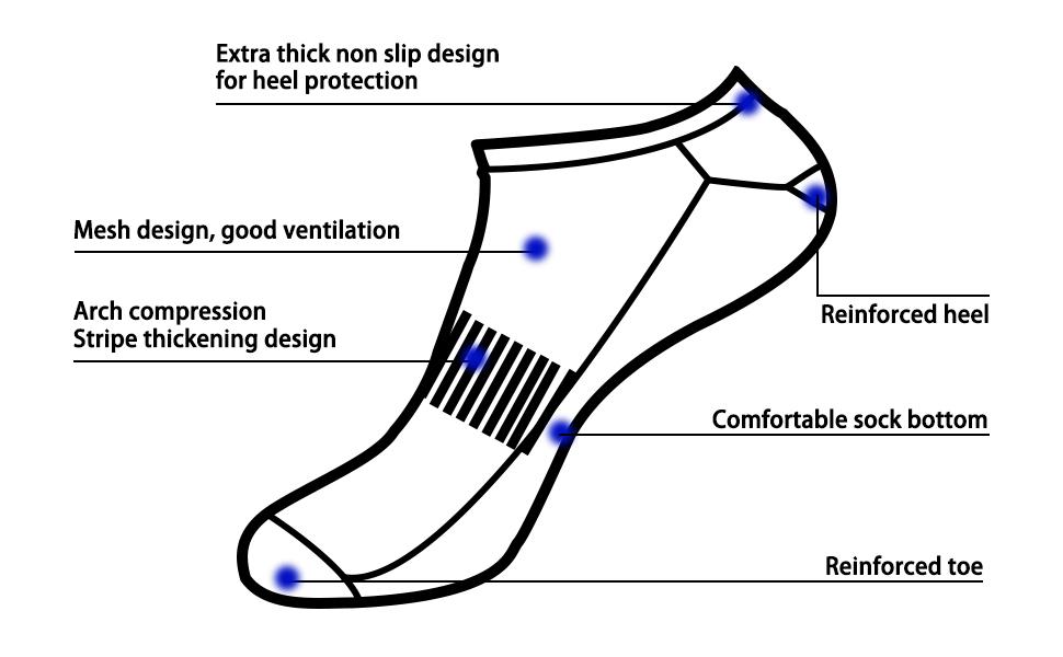 ankle socks black socks socks for men