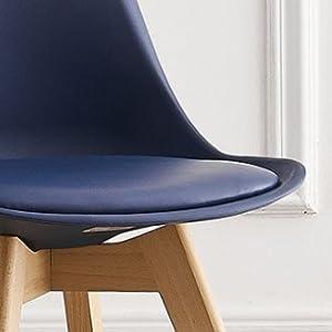 Lorenzo Navy Blue Chair