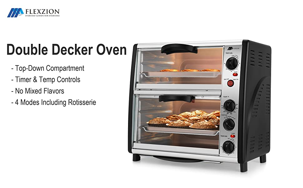 convection countertop ovens for baking with french door xl best large rotisserie extra 2 racks