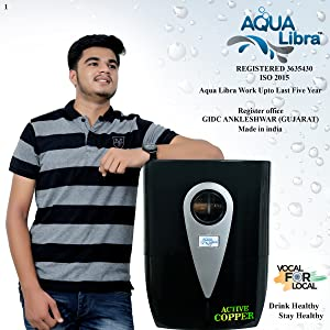 AQUA LIBRA WITH DEVICE Ro+UV+Uf+Tds Control New Technology Bags Water Purifier