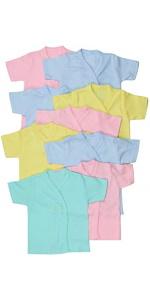 baby's long or short sleeve kimono shirts