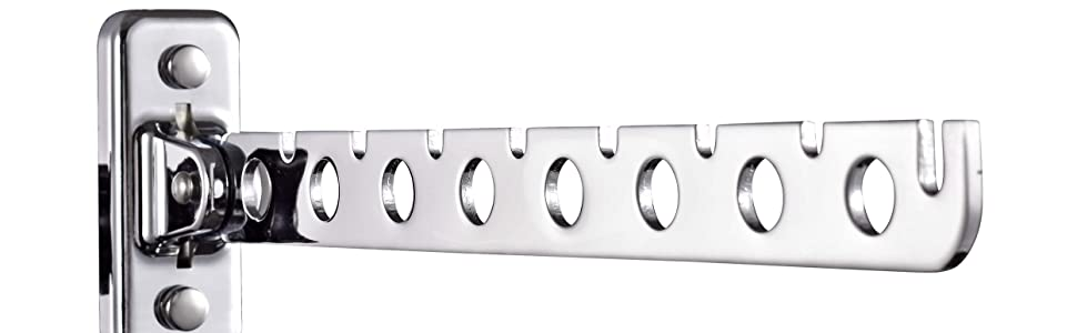 wall mount clothes hanger rack