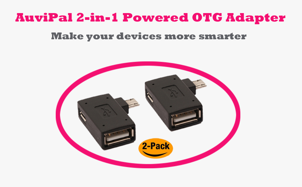 PRO OTG Power Cable Works for Huawei Ascend P1 S with Power Connect to Any Compatible USB Accessory with MicroUSB