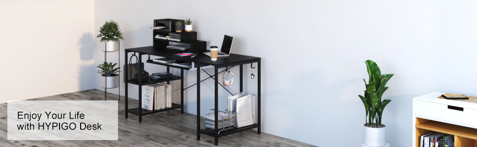 audio production desk two level desk 2 tier desk  desk for desktop