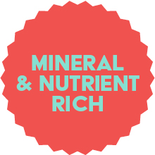 Mineral and nutrient rich
