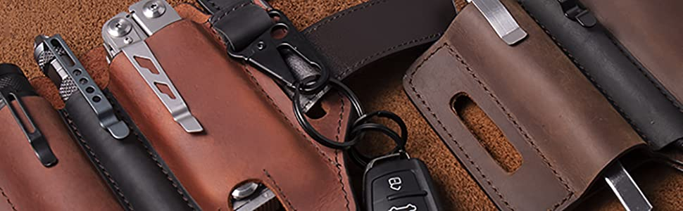 edc multitool sheath for belt