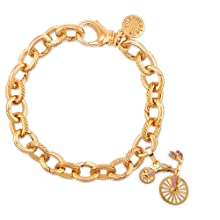 hanging bike charm bracelet initials gift letter bracelet gifts for women graduation Tiffany
