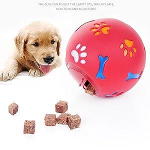 dog slow food toy