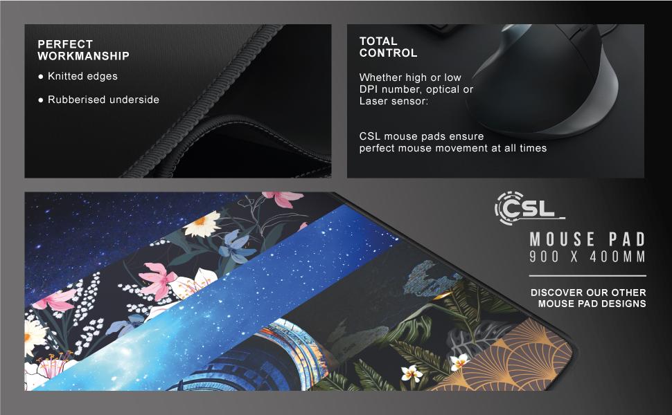 Mousepad CSL 900 x 400