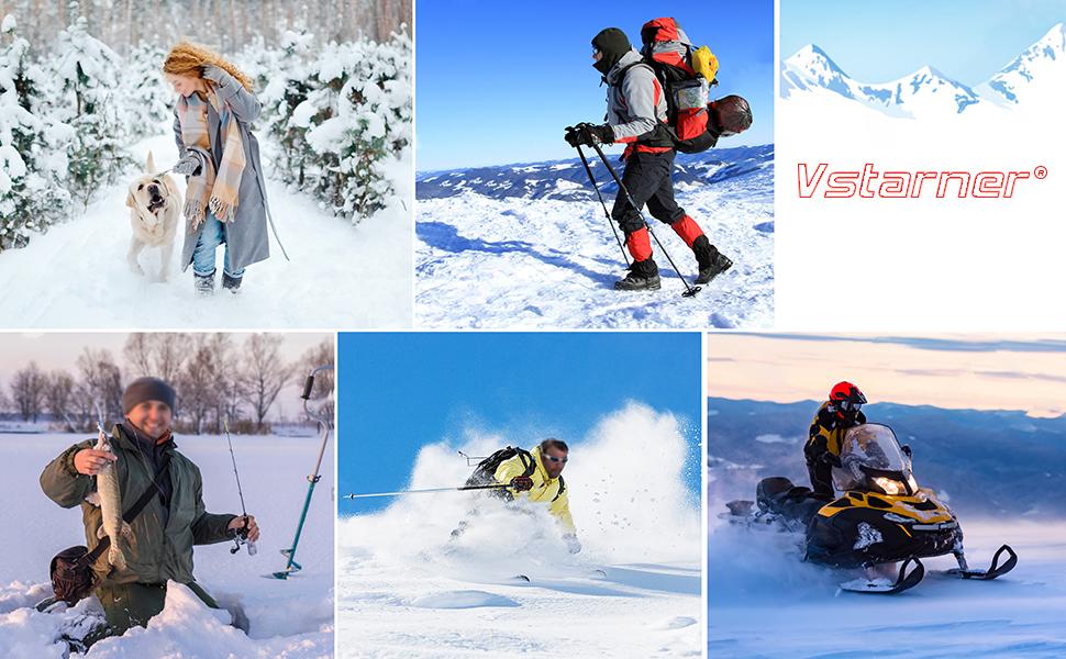 les sports dhiver en fourrure la neige Chaud protection contre le vent la chasse Chapeau de trappeur dhiver pour homme le cyclisme thermique le ski avec rabat pour les oreilles