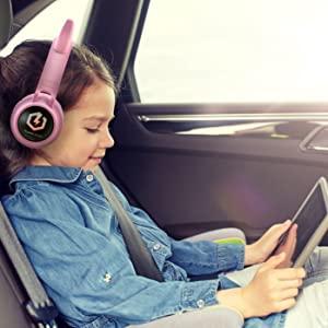 iPad Kopfhörer Kinder Kopfhörer Kinder Kopfhörer Kinder Kopfhörer Bluetooth drahtlose Kinder