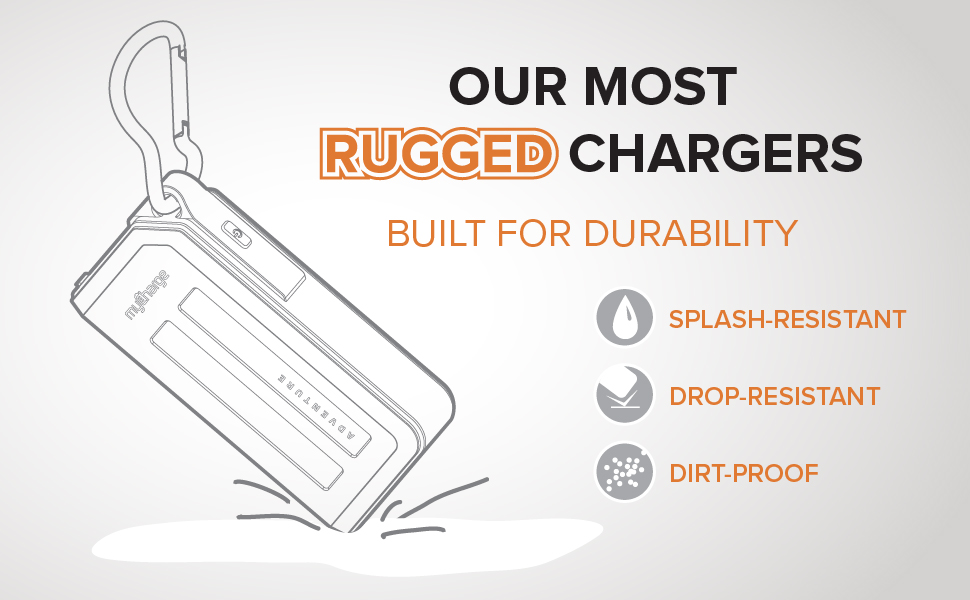 myCharge Adventure - Our Most Rugged Chargers - Built for Durability