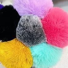 super cute fluffy pom pom