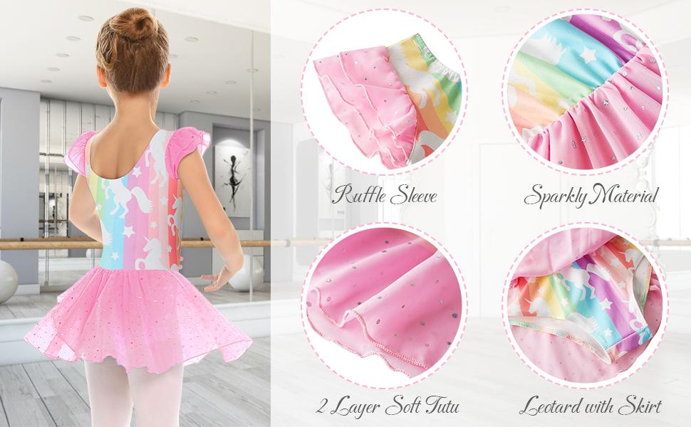 Ballerina  leotards for girls