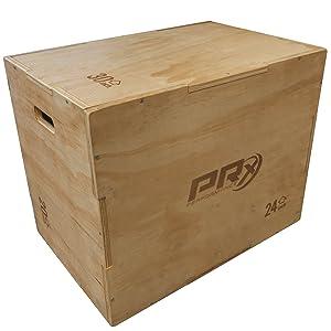 PRx Performance 16x24x30 Wood Sided Plyo Box Jump Box