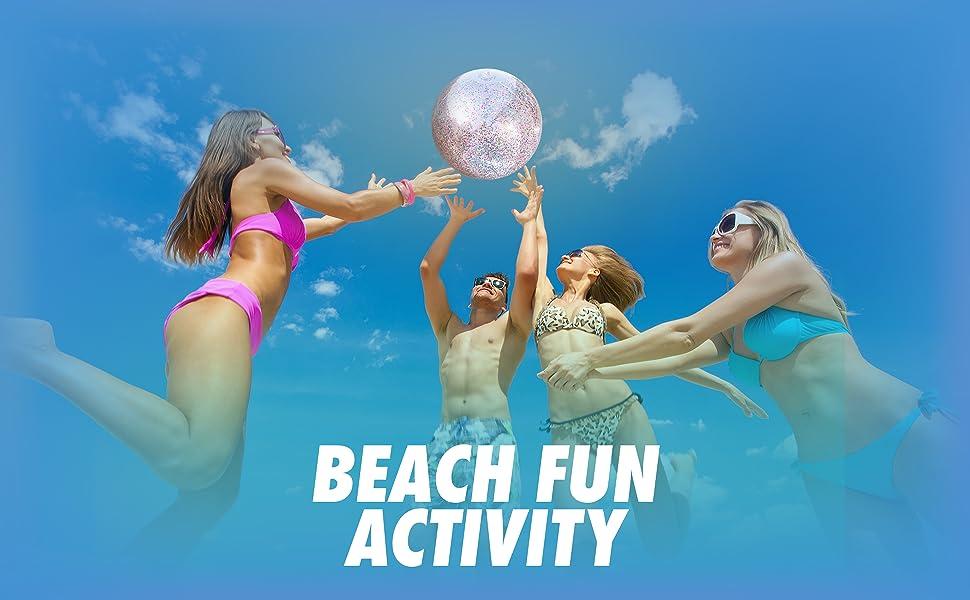 fun beach activity