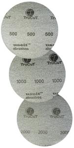 TruCut Sanding pad 3 pack 500 1000 2000 grit