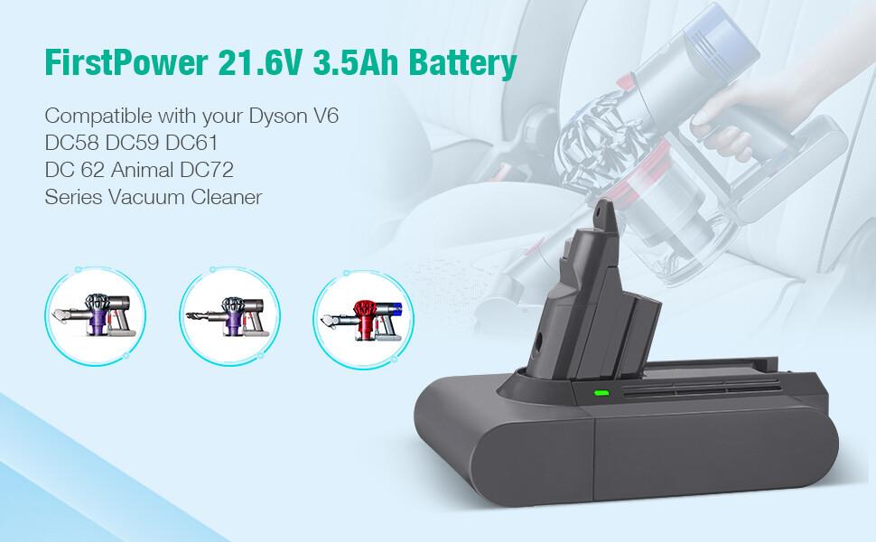 dydson v6 battery