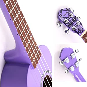 ukulele purple soprano