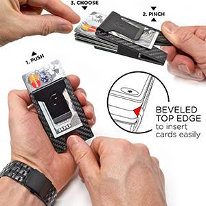 slim wallet minimalist wallet wallets for men money clip wallet mens wallets travel wallet for women
