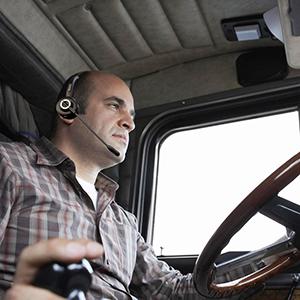 truck driver headset