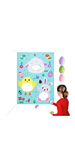 FUN EASTER STICKERS 76 PIECE SHEETS 3 COLORS BONUS FOIL STICKERS HIDE IN EGGS!