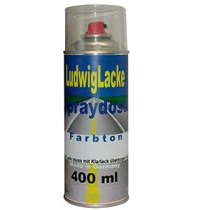Ludwig Lacke Spraydose Autolack Für Vw 400ml Im Farbton Jazzblue Perleffekt Lw5z Bj 95 06 Auto