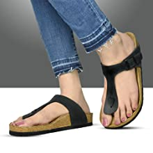 t strap sandals for women