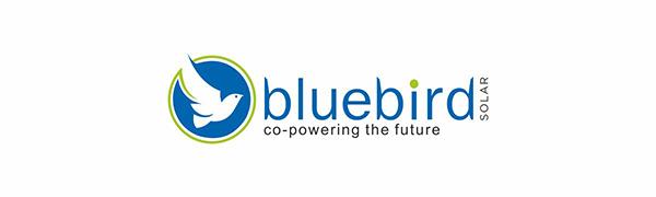 bluebird solar, solar panel