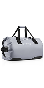 Gonex 40L 60L 80L Extra Large Waterproof Duffle Travel Dry Duffel Bag Heavy Duty Bag with Durable Straps /& Handles for Kayaking Boating Rafting Fishing Outdoor Adventure