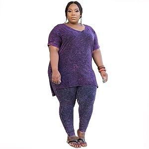 women's plus size loungewear
