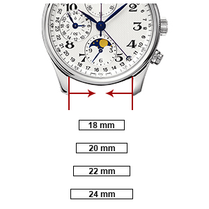 watch band 18mm