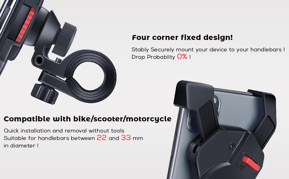 bike phone mount holder bicycle phone mount holder cycling phone mount holder  bike accessories