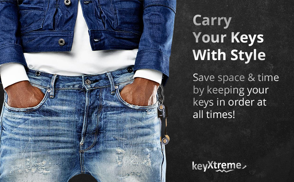 Stylish Key Holder Keychain for you EDC life