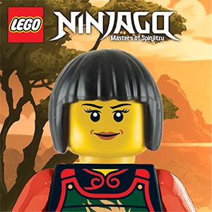 LEGO Ninjago Key Light Keychain Stationery Head Lamp Art Set