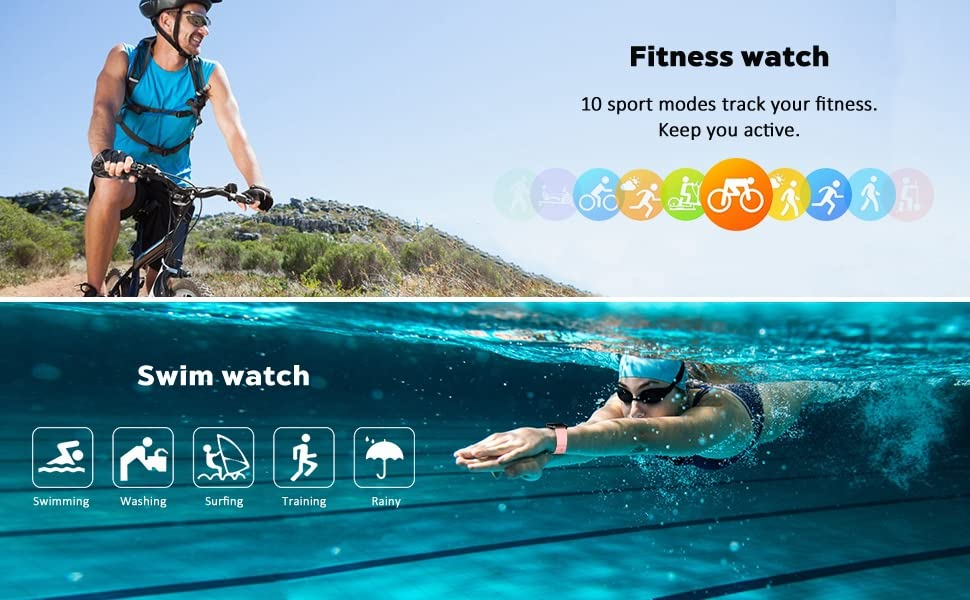 fitness tracker waterproof