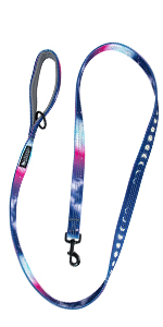 Double thick reflective dog leash