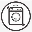 Repeated washing does not deform